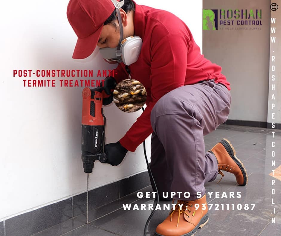 Post-construction anti-termite Treatment